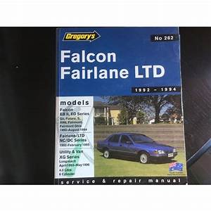 Falcon Xg Workshop Manual