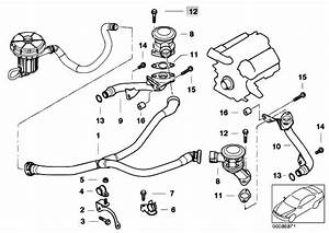 Original Parts For E65 745i N62 Sedan    Engine   Emission