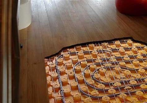 riscaldamento sotto pavimento riscaldamento a pavimento e legno fratelli pellizzari