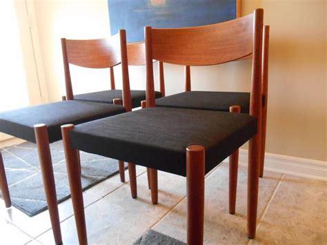 designer teak mid century dining chairs nepean ottawa
