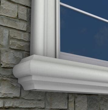 Window Sill Mouldings by 1000 Images About Exterior Foam Window Sills On