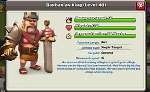 Barbarian King ~ Clash of Clans Tactics
