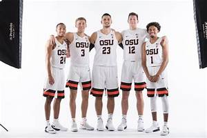 Oregon State men's basketball to wear new uniforms for ...