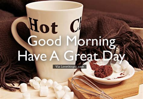 Hot Cocoa Winter Good Morning Pictures, Photos, And Images Coffee Pods Philippines Pod Maker Machine Canada Vs Ground Creamers With No Sugar Packaging For Nespresso Deals