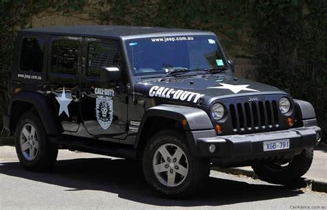 Jeep Wrangler Call Of Duty Black Ops Photos 1 Of 3