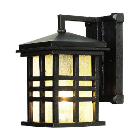 bel air lighting stewart 1 light black outdoor
