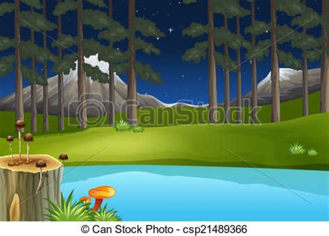 clean  green environment illustration   clean