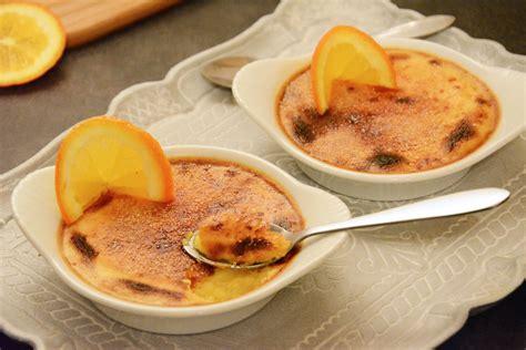 cuisine de soulef crèmes brûlées à l 39 orange le dessert facile au fil du thym