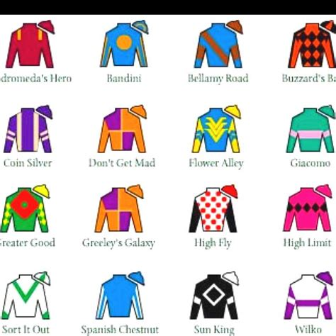 kentucky derby colors 163 best images about jockey quot silks quot cookies color