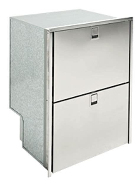 isotherm dbl drawer 160 ss inox 5 5 cu ft ac dc