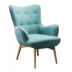 Fauteuil Crapaud Bleu Turquoise by Fauteuil Scandinave Turquoise