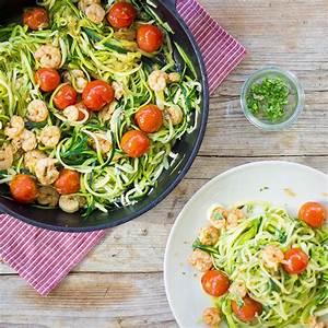 Garnelen Mit Nudeln : zucchininudeln mit garnelen und cherry tomaten ~ Orissabook.com Haus und Dekorationen
