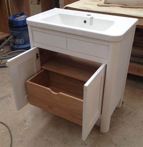 bathroom vanity units bespoke bathroom vanity units oak and painted dc furniture