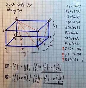 Geradengleichung Berechnen : vektoren geradengleichungen aufstellen mathelounge ~ Themetempest.com Abrechnung