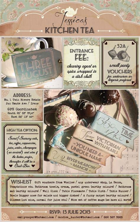 kitchen tea ideas best 25 kitchen tea invitations ideas on kitchen tea tea bridal