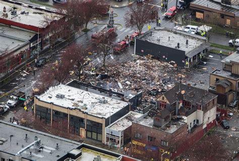 seattle explosion leaves heart  greenwood neighborhood
