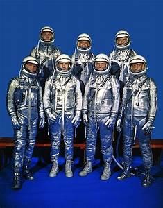 Project Mercury Astronauts Photograph by Everett