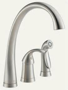 touch kitchen faucet pilar faucet and sprayer in stainless steel