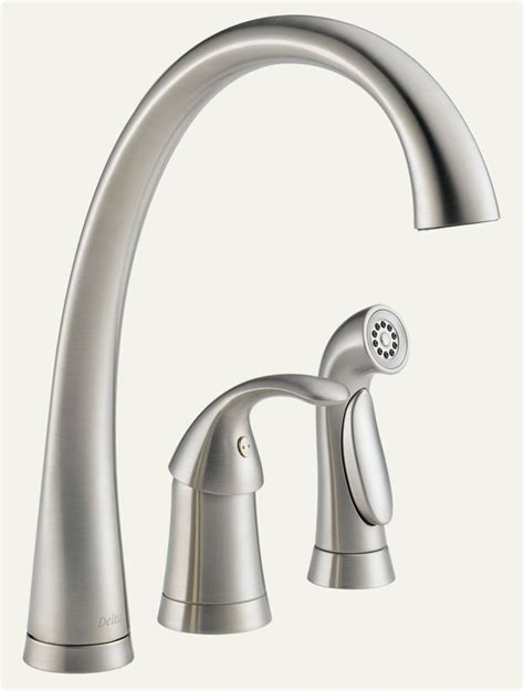 amazon com kitchen faucets pilar faucet and sprayer in stainless steel