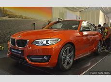 BMW 2 Series Coupe launched – 220i, from RM260k Paul Tan
