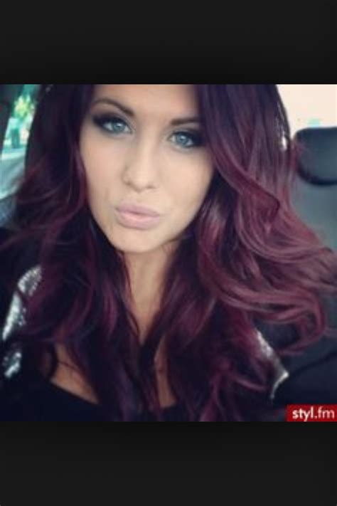 reddish purple hair color pin by julie on hair cherry hair colors cherry