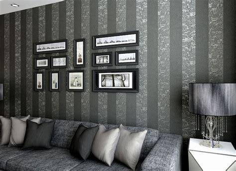 grey living room wallpaper wallpaper design  living