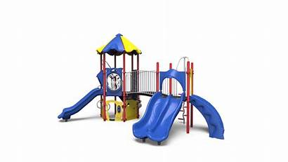 Playground Clipart Playhouse Drawing Transparent Slide Play