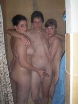 Teens first college shower