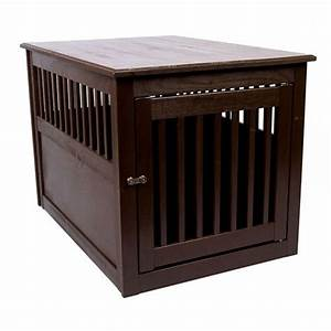 dynamic accents end table dog crate poplar With dog crates that look like end tables