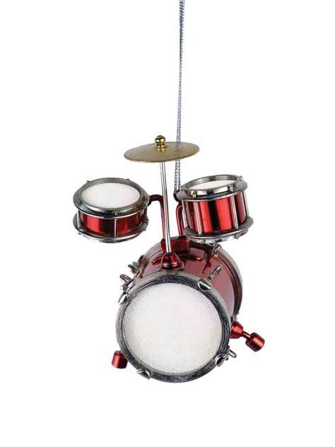 buy red junior drum set ornament music gift christmas
