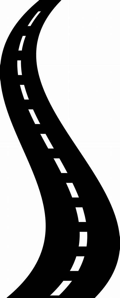 Road Clipart Icon Transparent Background Highway Path