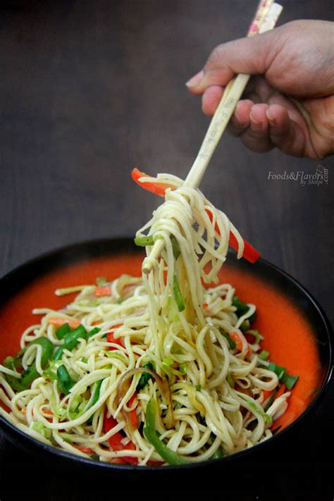 hakka cuisine recipes hakka noodles recipe how to vegetable hakka noodles