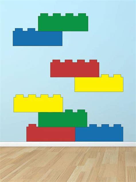 Lego Bedroom Wall Decals by Lego Blocks Vinyl Wall Decal Baby Child Lego Lego