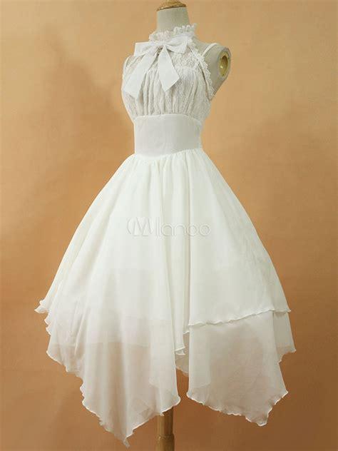 b l f lace dress dress jsk the white chiffon lace bow