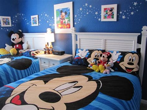 Mickey Mouse Bedroom Ideas Decorating Ideas