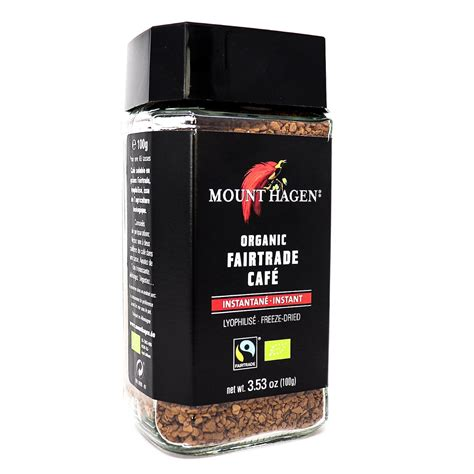 Unlike most decaffeinated coffees that rely on chemicals, mount hagen uses a natural process, ensuring the purest and best possible tasting coffee. Buy Mount Hagen Organic Instant Coffee Online Canada - Organic Frair Trade Coffee Delivery ...