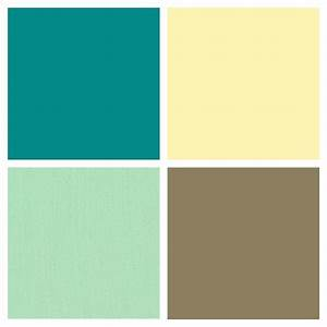 Kitchen color palette butter country yellow mint for Kitchen colors with white cabinets with wagon wheel wall art
