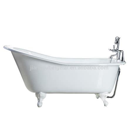 antique vintage clawfoot enamelled cast iron bathtub