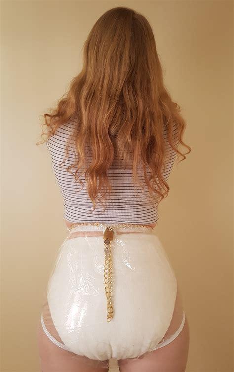 clear locking plastic pants  padlock  dotty diaper company