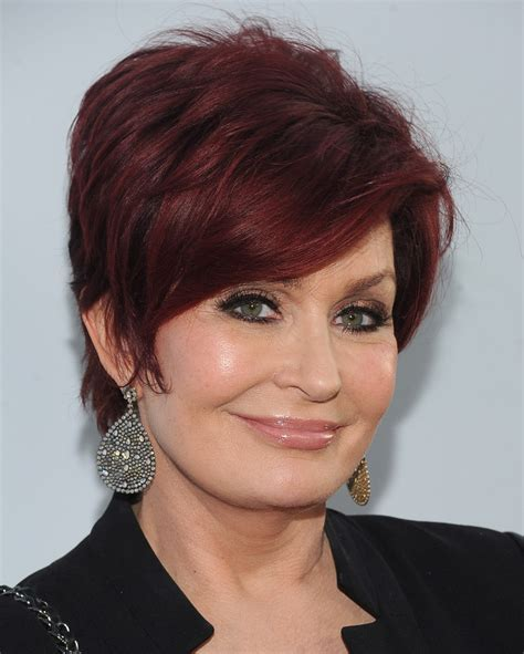 Sharon Osbourne Dangling Diamond Earrings   Sharon