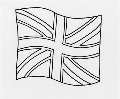 Union Jack Flag Coloring Page Pages