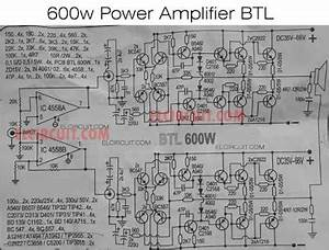 Diy Power Amplifier Project 600w Btl   Tone Subwoofer