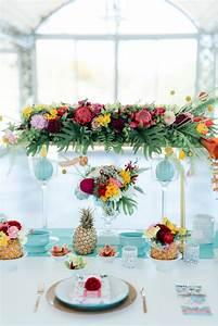 Deco Table Tropical : gorgeously whimsical tropical wedding ideas ~ Teatrodelosmanantiales.com Idées de Décoration