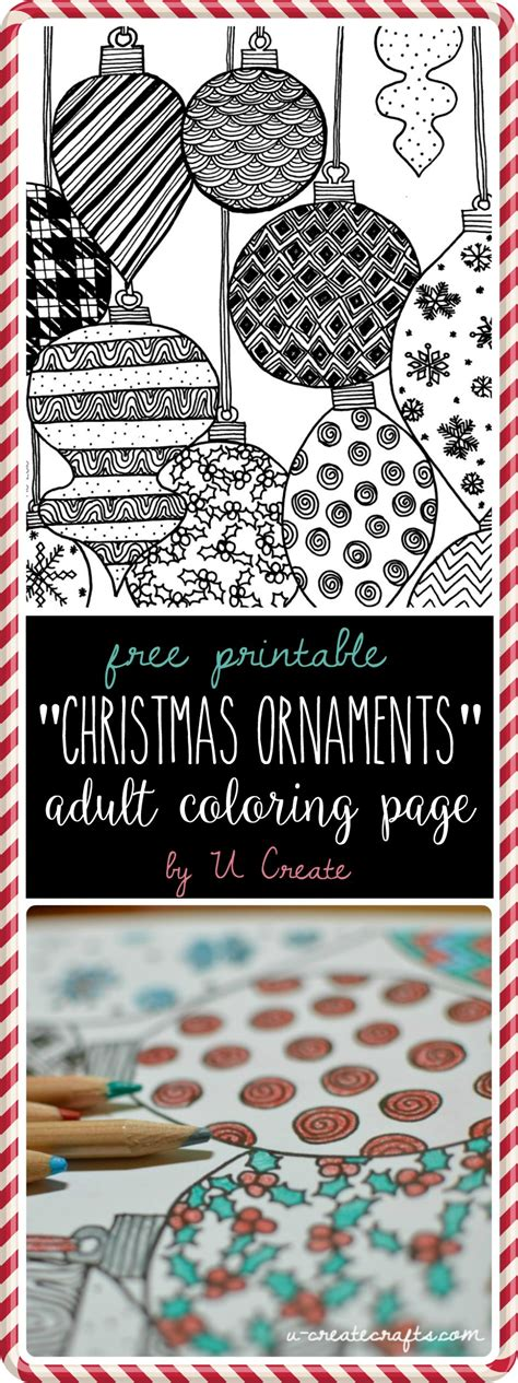 google printable christmas adult ornaments ornaments coloring page u create
