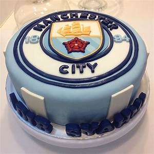 Manchester City Cake | Soccer theme cake | Pinterest ...