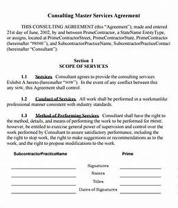 master service agreement 10 download free documents in With agreement to provide services template