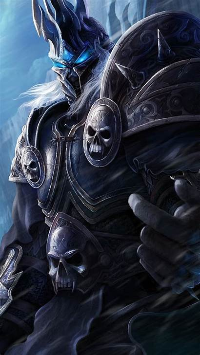Lich King 4k Warcraft Wow Mobile Phone