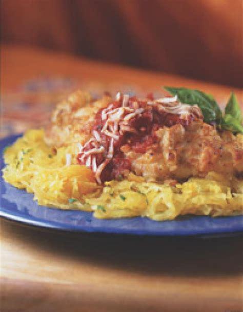 chicken parmesan spaghetti squash chicken parmesan with spaghetti squash recipe