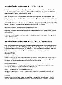Examples Of Resumes For Customer Service Jobs Linkedin Summary Resume Example Http Resumesdesign Com