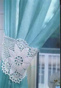 embrasse de rideau 1 crochet pinterest